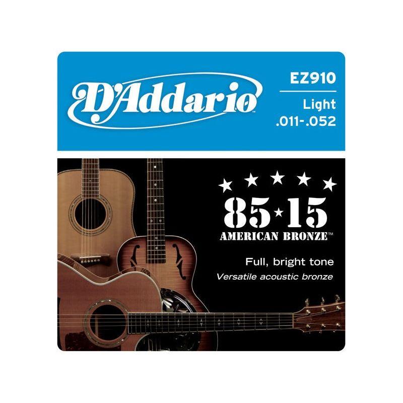 D'Addario zice za ak. gitaru .011 - .052
