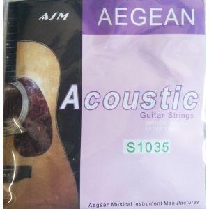 ASM AEGEAN S1035 žice za akustičnu gitaru