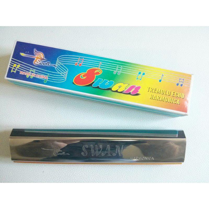 Usna harmonika SWAN L404A - aluminium