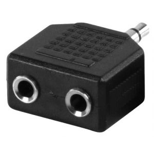 ADAPTER 2X3,5mm STEREO UTICNICA-3,5mm ST. UTIKAC