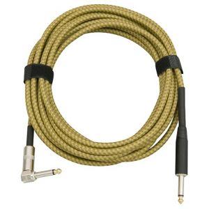 Musicians Gear kabl Tweed Gold 3m (Ts- Ts ugaoni)  CL-397-10-BN-YE