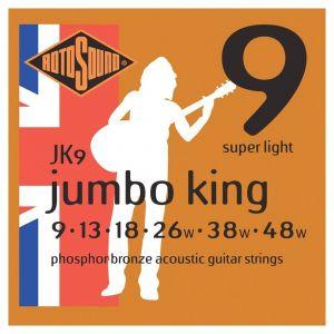 Roto Sound žice za akustičnu gitaru JK9