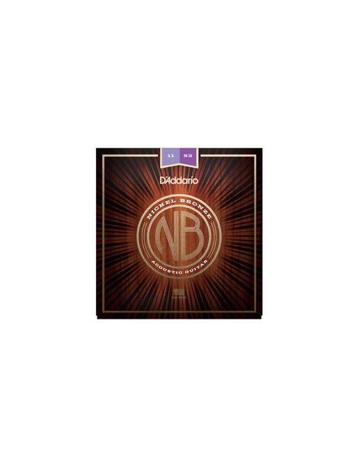 D'Addario NB 11-52 žice za akustičnu gitaru