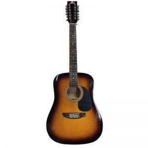 LAG12J Dvanaestožičana gitara (blago oštećenje na laku kod kobilice)