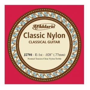 E 1. žica za klasičnu gitaru D'addario