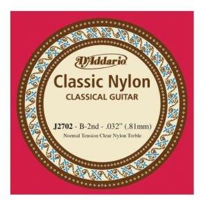 B 2. žica za klasičnu gitaru D'addario