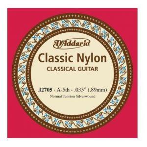 A 5. žica za klasičnu gitaru D'addario