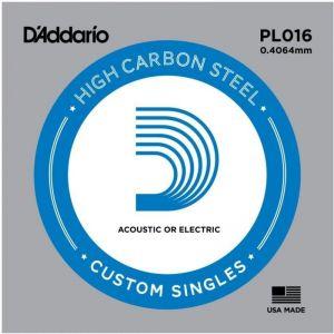 D'Addario PL016 Plain Steel...