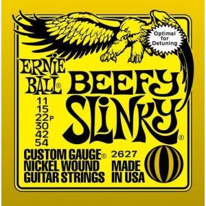 Žice za Električnu Gitaru Ernie Ball BEFFY SLINKY 11-54