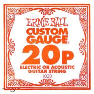 Ernie Ball 20p Plain Žica...