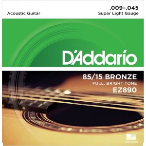 EZ890 D'Addario Žice 09-45