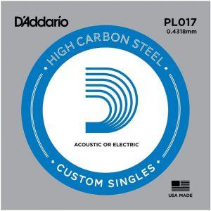 D'Addario PL017 Plain Steel...