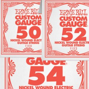 Žice na komad Ernie Ball 50-54 Nickel Wound