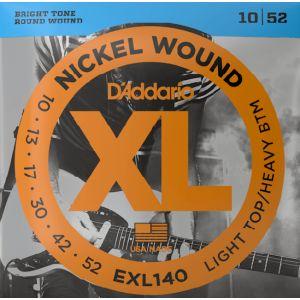 EXL140 D'Addario 10-52 Žice...