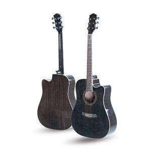 SWC Bk Gloss Akustična Gitara by Strauss Rottman