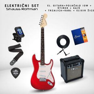 SET 10W Električna gitara -...