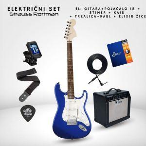 SET 15W Električna gitara -...