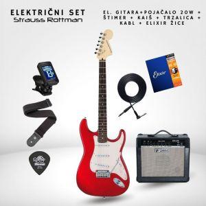 SET 20W Električna gitara -...