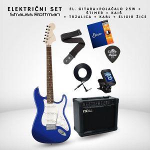 SET 25W Električna gitara -...
