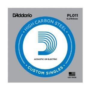 Žica na komad D'Addario Plain Steel 09,10,11
