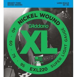 D'Addario EXL220 žice za bas gitaru