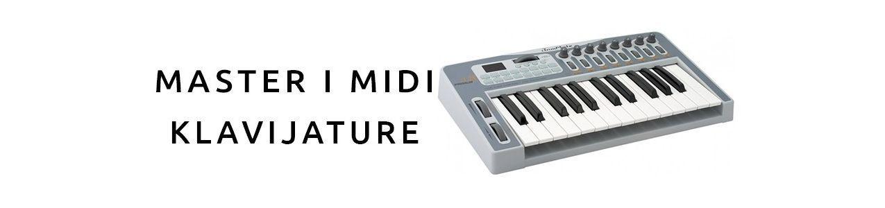 Master i MIDI klavijature